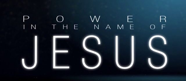 The name of Jesus Christ